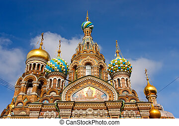 Church of the Savior on Spilled Blood, St. Petersburg,...