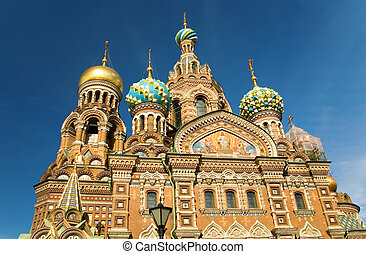 Church of the Savior on Spilled Blood, St.Petersburg, Russia...