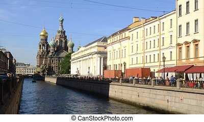 Church of the Savior on the Spilled Blood in St. Petersburg, Russia.