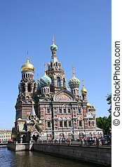 Church of the Savior on the Spilt Blood, St Petersburg