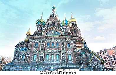 Church of the Saviour on the Spilled Blood in St Petersburg, Russia