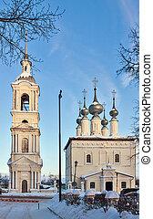 Church of the Smolensk icon of Divine Mother, Suzdal, Russia