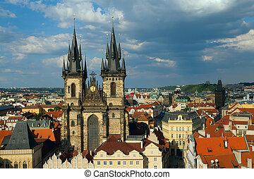 Church of Virgin Maria Before Tyn, Prague, Czech republic