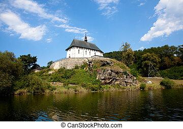 church on a hill