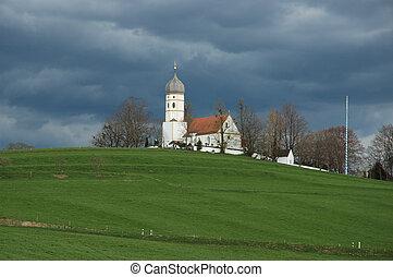 church on hill