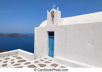 Church on Santorini