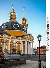 Church on the Poshtova Square in Kiev