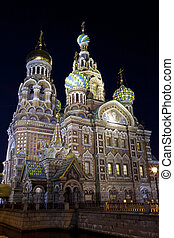 Church on the Spilled Blood in Saint Petersburg