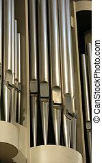 Church organ detail musical instrument