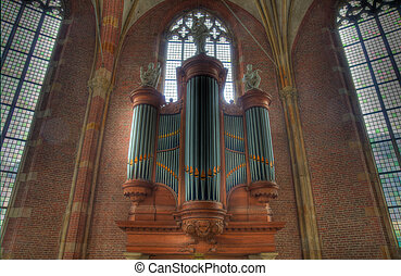 church organ