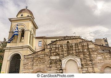 Church Pantanassa Monastery Byzantine Church Monastiraki...