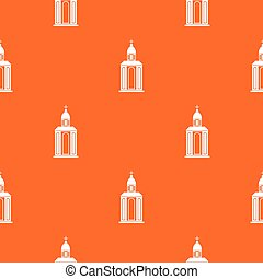 Church pattern seamless