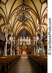 Church - Inside of a church (Lund, Sweden)
