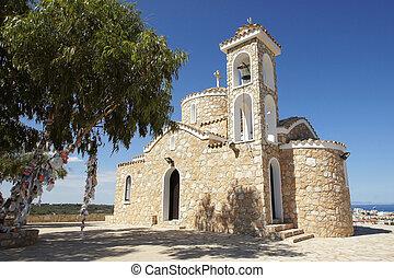 Church Profitis Ilias, Cyprus - Beautiful orthodox church ...