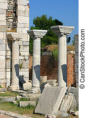 Church ruins of John the Baptist
