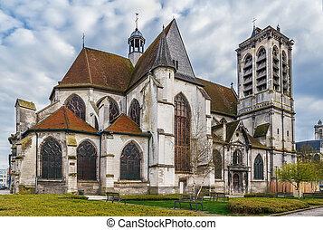 Church Saint-Nizier, Troyes, France