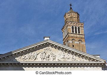 Church San Maurizio in Venice, Italy.