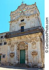 Church Santa Lucia alla Badia, Siracusa, Sicily, Italy.