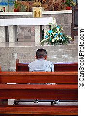 Church services.