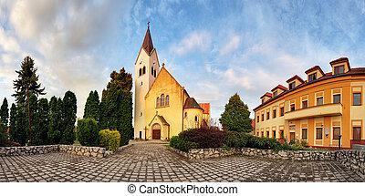 Church, Slovakia panorama