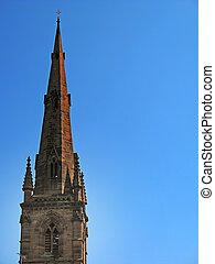 Church Spire in Chester England UK