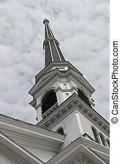 Church Spire, Montpelier, Vermont