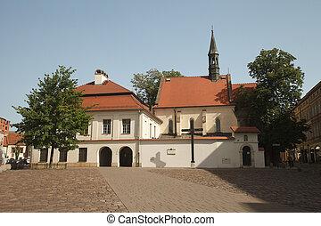 church St. Giles in  Krakow, Poland.