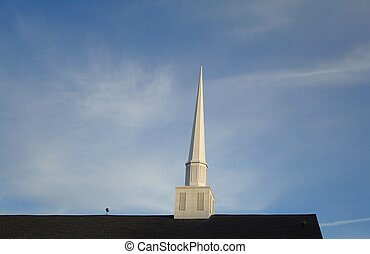 Church Steeple - Church steeple.