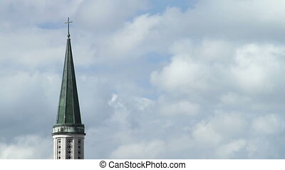 Church Steeple Time Lapse
