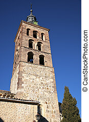 Church Tower in Segovia