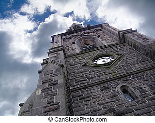 Church Tower - taken at the emmanuel church, ramsbottom, ...