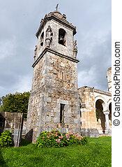 Church Urkiola Sanctuary in Urkiola National Park, Basque Country, Spain, Europe .