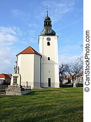 church, village Havran?ky, Czech Re