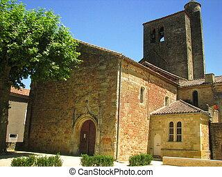 Church, village