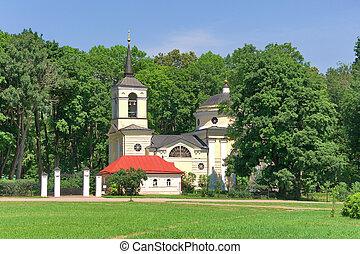 Church. Village Spassky-lutovinovo.