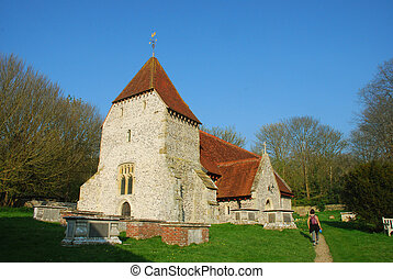 church - West Dean, East Sussex, UK