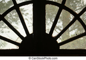 This is a window from a church.