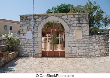 Church yard entrance, Katomeri