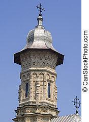 Churchbell  tower of Dragomirna Monastery