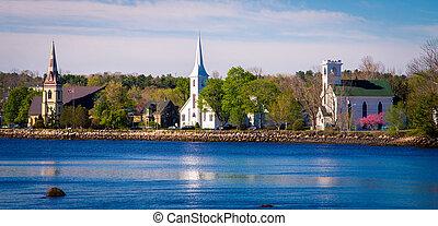 Churches mahone bay nova scotia