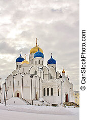Churches of the Nicholas Ugreshsky monastery, which was founded in 1380