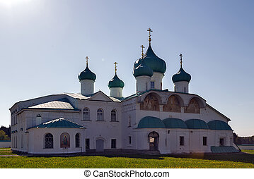 Churches of the Transfiguration St. Alexander of Svir Monastery, Russia