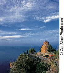 Churck - Church Kaneo on the Ohrid lake