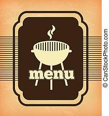 churrasqueira, menu