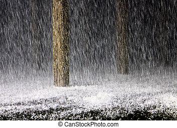 chute de pluie