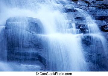 chute eau