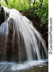 chute eau, jur-jur