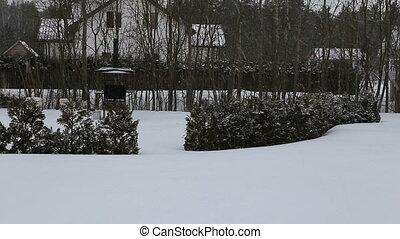 chute neige