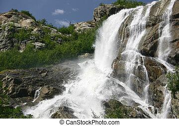 chutes d'eau, ali, beck., recours, caucas