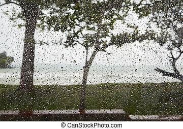 chuva pesada